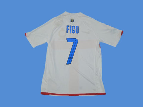 INTER MILAN 2007 2008 FIGO 7 AWAY JERSEY