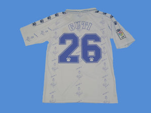 REAL MADRID 1994 1996 GUTI 26 HOME JERSEY