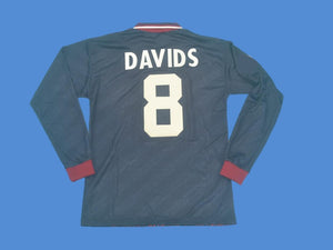AJAX 1994 1995 DAVIDS 8 UCL FINAL LONG SLEEVE JERSEY