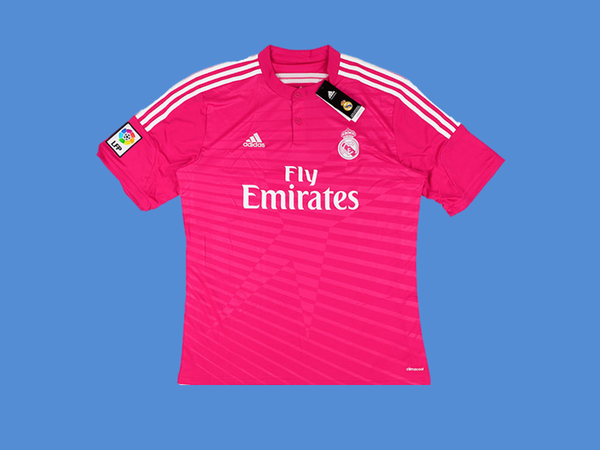 REAL MADRID 2014-2015 KROOS 8  AWAY MENS SOCCER  JERSEY
