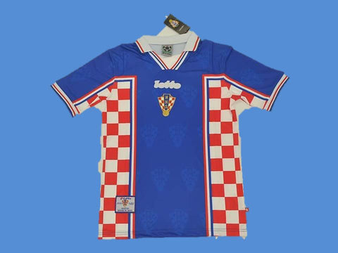 CROATIA 1998 WORLD CUP HRVATSKA  AWAY  JERSEY