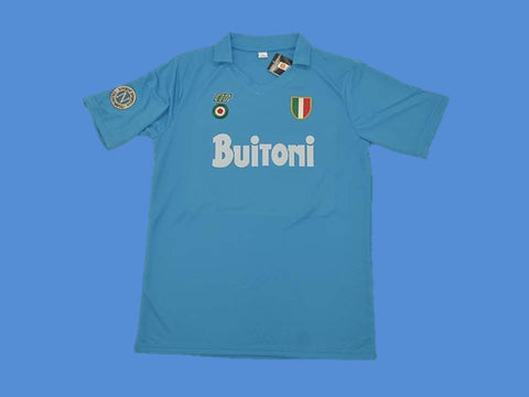 NAPOLES NAPOLI 1987 1988 HOME JERSEY