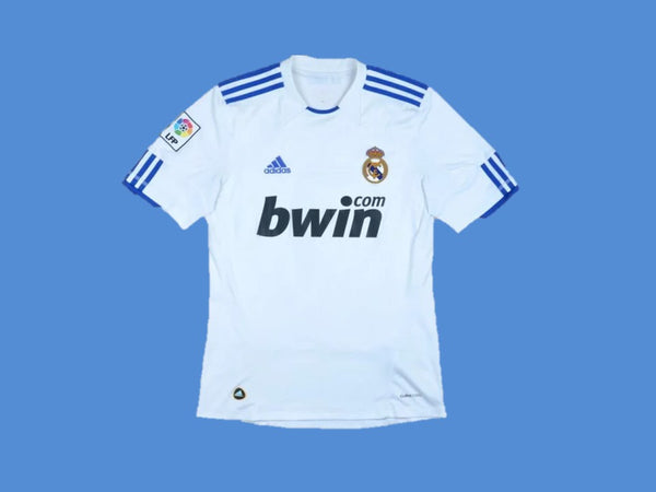 REAL MADRID 2010 2011 PEPE 3 HOME JERSEY