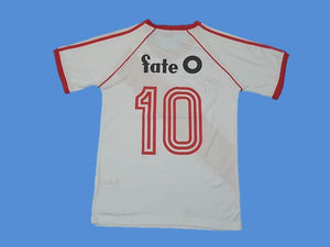 RIVER PLATE 1986 NUMBER 10 HOME SOCCER JERSEY
