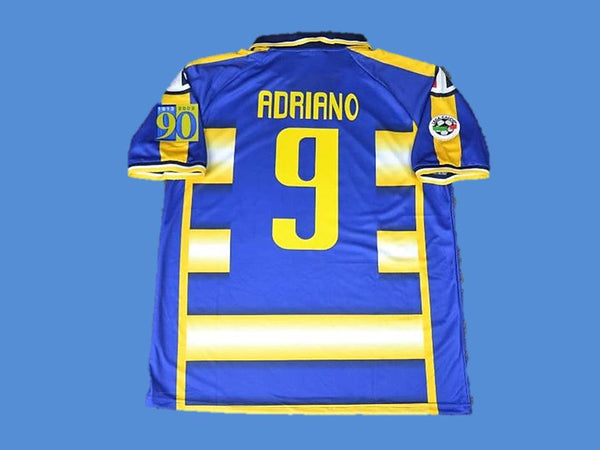 PARMA 2003 2004 ADRIANO 9 HOME  JERSEY