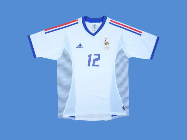 FRANCE 2002 HENRY 12 WORLD CUP AWAY JERSEY