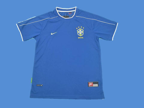BRAZIL BRASIL 1998 WORLD CUP AWAY  JERSEY