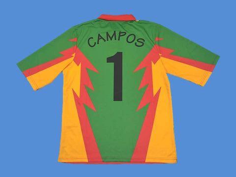 MEXICO 1998 CAMPOS 1 WORLD CUP GOALKEEPER  JERSEY