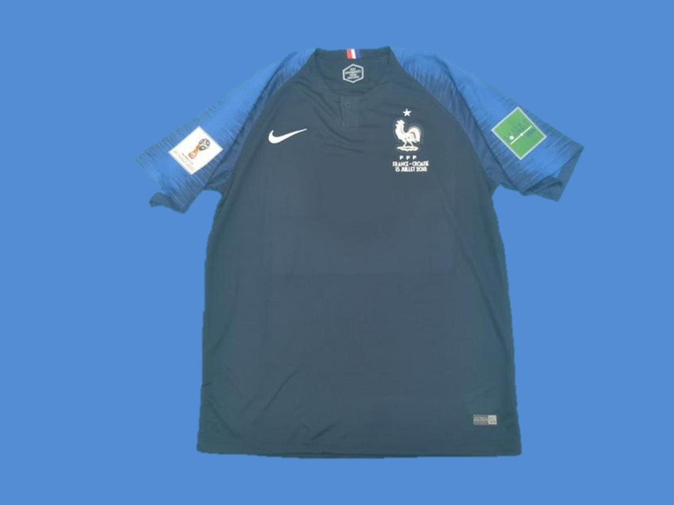 FRANCE 2018 HOME JERSEY WORLD CUP PATCHES