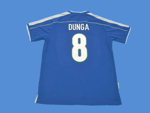 BRAZIL BRASIL 1998 DUNGA 8 WORLD CUP AWAY JERSEY