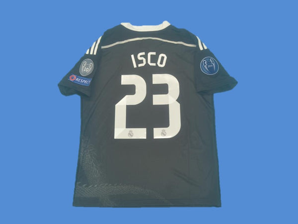 REAL MADRID 2014-2015 ISCO 23 WORLD CHAMPIONS AWAY JERSEY