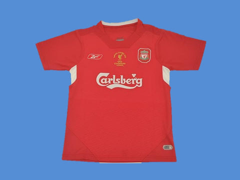 LIVERPOOL 2004 2005 UCL FINAL 2005 HOME JERSEY