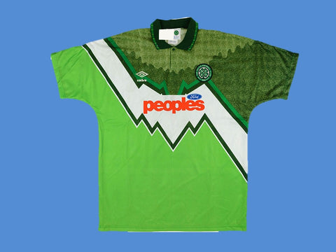 CELTIC 1991 1992 AWAY JERSEY