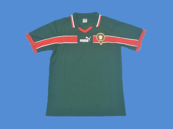MOROCCO 1998 WORLD CUP JERSEY