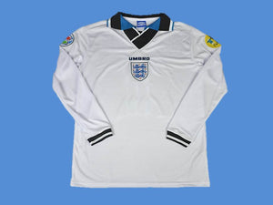ENGLAND 1996 LONG SLEEVE HOME JERSEY
