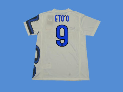 INTER MILAN 2010 ETO O 9 AWAY JERSEY
