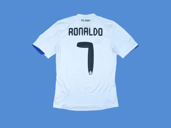 REAL MADRID 2010 2011 RONALDO 7 HOME JERSEY