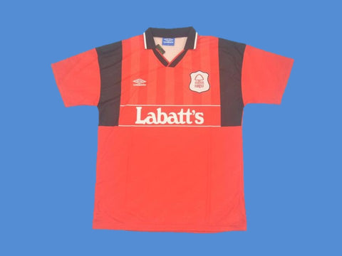 NOTTINGHAM FOREST 1994 1996 HOME JERSEY