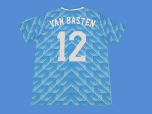 NETHERLANDS HOLLAND 1988 VAN BASTEN 12 AWAY JERSEY