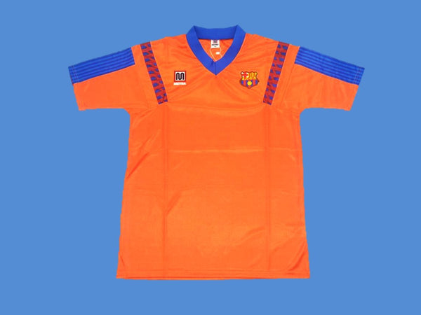 BARCELONA 1992 1993 NUMBER 10 AWAY JERSEY
