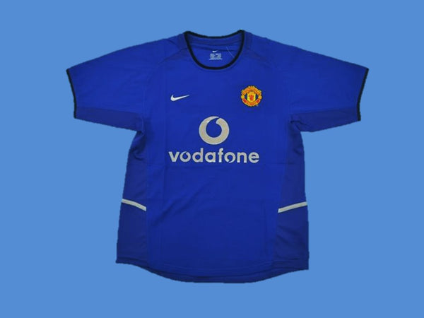 MANCHESTER UNITED 2002 2003 G. NEVILLE 2 AWAY JERSEY