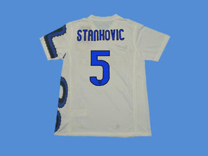 INTER MILAN 2010 STANKOVIC 5  AWAY JERSEY