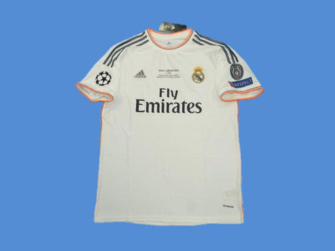 REAL MADRID 2013-2014 UEFA CHAMPIOS LEAGUE HOME JERSEY