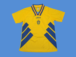 SWEDEN 1994 WORLD CUP HOME JERSEY