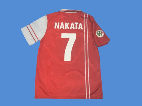 PERUGIA 1998 1999  NAKATA 7 JERSEY SERIE A PATCH