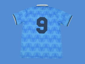 LAZIO 1989 NUMBER 9 HOME  JERSEY