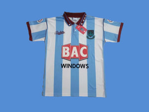 WEST HAM  UNITED 1991 1992 AWAY JERSEY