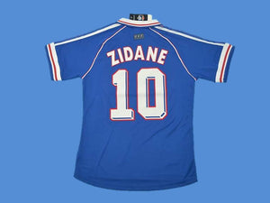 FRANCE 1998 WORLD CUP ZIDANE 10 JERSEY