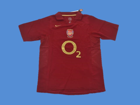 ARSENAL 2005 2006 HIGHBURY HOME JERSEY