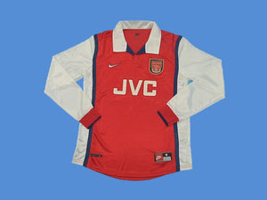 ARSENAL 1998 1999 LONG SLEEVE HOME JERSEY