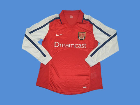 ARSENAL 2000 LONG SLEEVE HOME JERSEY