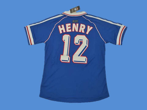 FRANCE 1998 WORLD CUP HENRY 12 JERSEY