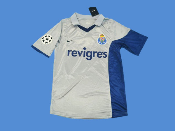 PORTO 2001 AWAY JERSEY DECO 10 CHAMPIONS LEAGUE