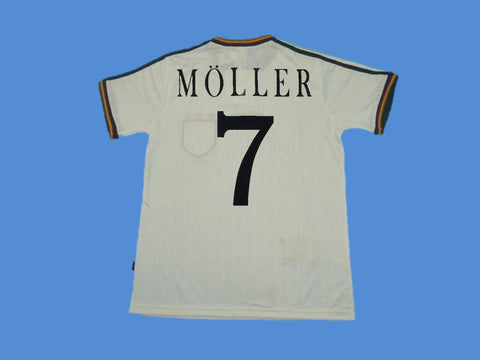 GERMANY 1996 MOLLER 7 HOME JERSEY