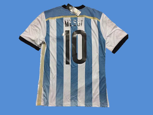 ARGENTINA 2014 MESSI  10 WORLD CUP HOME JERSEY