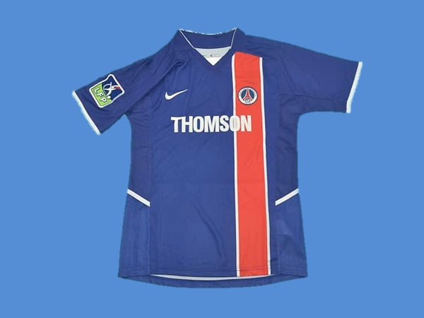 PARIS SAINT GERMAIN PSG 2002 HOME JERSEY