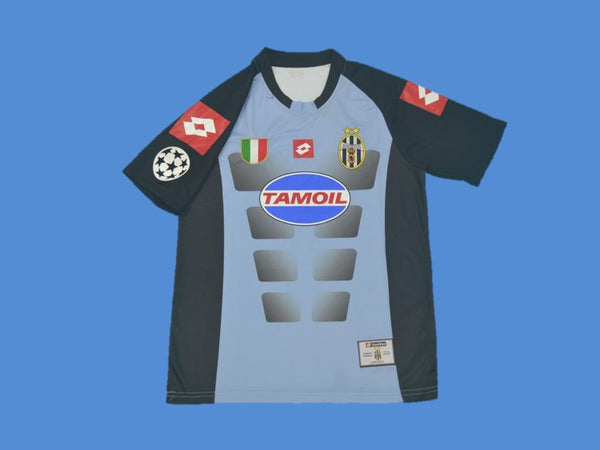 JUVENTUS 2002 2003 BUFFON 1 HOME JERSEY CHAMPIONS LEAGUE