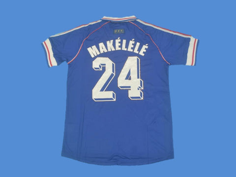 FRANCE 1998 WORLD CUP MAKELELE 24 JERSEY