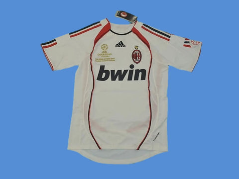 AC MILAN 2006 2007 FINAL AWAY JERSEY