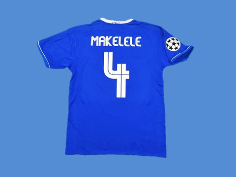 CHELSEA 2003 2005 MAKELELE 4 UCL HOME JERSEY