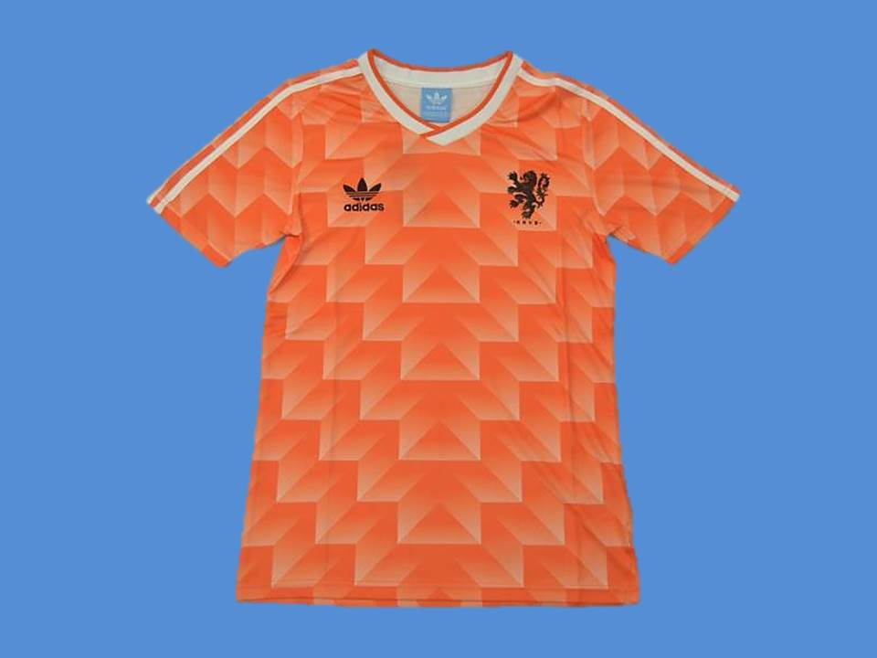 NETHERLANDS HOLLAND 1988 HOME  JERSEY