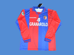 BOLOGNA 1997 1998 HOME JERSEY LONG SLEEVE SERIE A