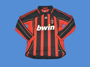 AC MILAN 2006 2007 LONG SLEEVE HOME JERSEY