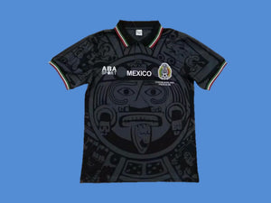MEXICO 1998 WORLD CUP AWAY BLACK JERSEY