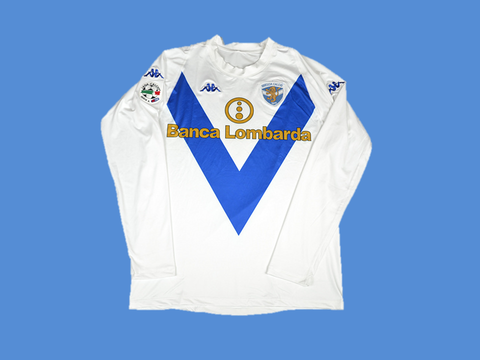 BRESCIA 2003 2004 HOME  WHITE  JERSEY