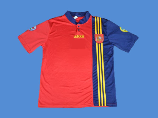 SPAIN 1996 EURO CUP HOME JERSEY